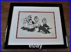 101 Dalmatians Puppies Disguise Ltd Edition Fine Art Serigraph