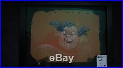 1940 Rare Walt Disney Fantasia original film framed production animation