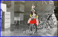 1988 Rare Walt Disney Who Framed Roger Rabbit Original Production Animation Cel