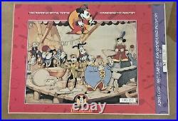 1993 Disneyana Convention Framed BAND CONCERT DISNEYLAND COMMEMORATIVE PASSPORT