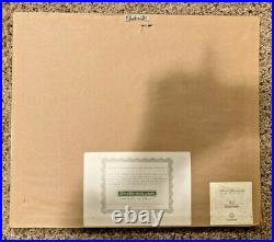 2009 Walt Disney Company 1 Share Stock Certificate Framed
