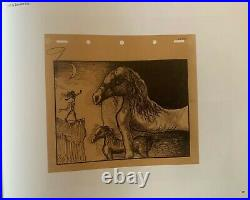 (After) Dali & Walt Disney, Destino #61 Ltd Ed, Framed, Signed Serigraph