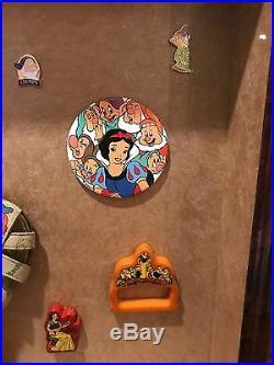 Antique Framed Walt Disney Snow White And Seven Dwarfs RARE Merchandise