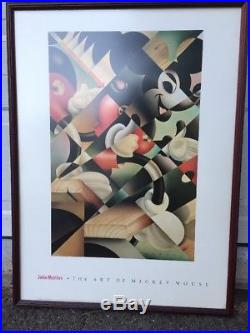 Art Of Mickey Mouse John Mattos Poster Print Staircase Art Of Disney Framed