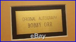 Bobby Orr Autographed Framed Lake Placid 1st Day Cover Walt Disney Authentic