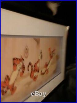 Bouncy Trouncy Tigger - Limited Edition Framed Walt Disney sericel print (1997)