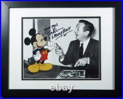 Bret Iwan Voice Mickey Mouse & Walt Disney NEW 8x10 NEW Frame CoA