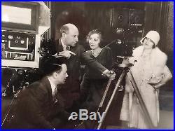 Cecil B DeMille Autograph Founder of Hollywood Walt Disney Co COA Rare Framed