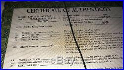 Charles Fazzino WALT DISNEY WORLD Hand Signed Limited Edition FRAMED with COA