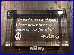 Club 33 Disneyland Happy Holidays Picture Album From 2013 In Silver Frame