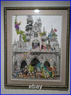 DISNEY Framed Art Walt's 100 years of magic signed 137 of 1000