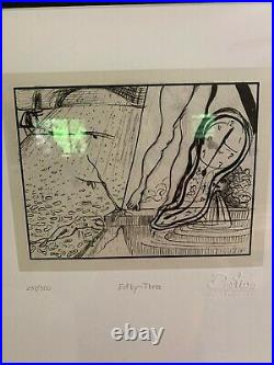 Destino #53 Framed Salvador Dali/walt Disney Fine Art