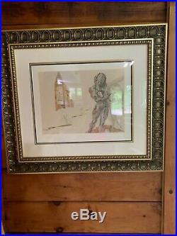 Destino #56 Framed Salvador Dali/walt Disney Fine Art
