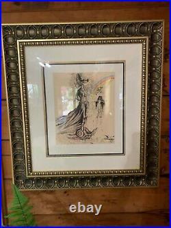 Destino #64 Framed Salvador Dali/walt Disney Fine Art