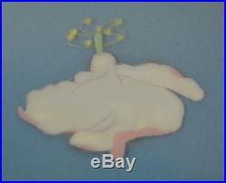 Disney Fantasia Fairy & The Whirling Flower Rare Animation Art Celluloid FRAMED