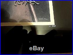 Disney Fantasia Night on Bald Mountain LE 1500 Framed Pin Set Chernabog