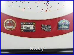 Disney Framed 22 Pin Set Walt Disney World 2000 Resorts Limited Ed. 100
