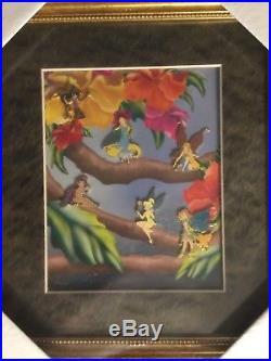 Disney Framed Pixie Hollow 6-Pin Set LE1000 (Tinker Bell/Vidia/Fira/Rani/Prilla)