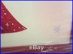 Disney Jessica Rabbit I'm Not Bad Just Drawn That Way Frame Giclée Canvas #18/95