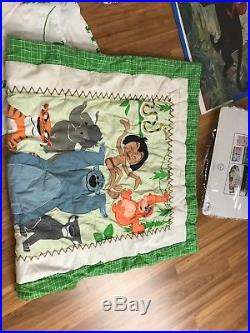 Disney Jungle Book Crib Bedding, Plush, Lamp, Photo Frame, Wall Decor