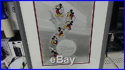 Disney MGM Studios Art of Animation Cel Mickey Film Strip Walt Disney Framed