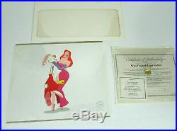 Disney MY HONEY BUNNY Limited Edition Sericel, Who Framed Roger Rabbit 1994