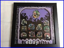 Disney Nightmare Before Christmas Doom Buddies Framed 11 Pin Set (2004) LE 500