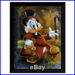Disney Parks Duck Tales Scrooge Treasure Framed Giclee by Darren Wilson New