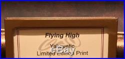 Disney Parks Flying High Dumbo LE Framed Giclee by Joe Yakovetic New