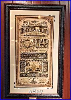 Disney Parks Grand Canyon Framed LE Print by Jeremy Fulton New