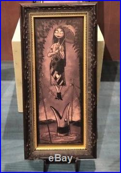 Disney Parks Haunted Mansion Nightmare Before Christmas Complete Frame Set New
