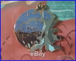 Disney Peter Pan 65th Anniversary Neverland Framed Pin Set LE 500 New