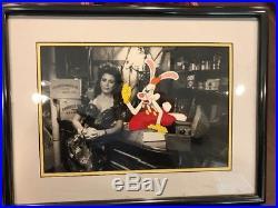 Disney Production Animation cel Who Framed Roger Rabbit Art cell 1988 Framed