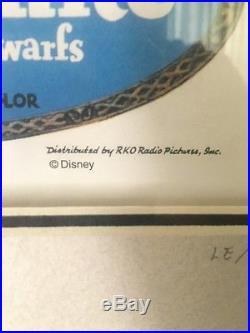 Disney Snow White 65th Anniversary Framed Pin Set