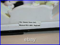 Disney Store 3D Baby Photo Frame Vintage, My First, Mickey Mouse, Minnie VGC