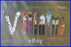 Disney Villains Icon Letters Framed Pin Set New Unusual Disney World Florida