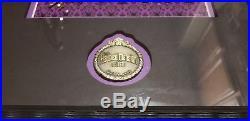 Disney WDW Haunted Mansion Haunting Spells Framed Letter Pin Set, Mike Sullivan