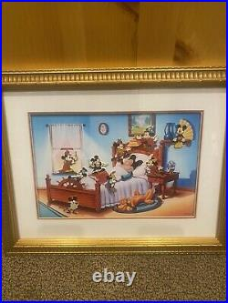 Disney WDW It All Started with Walt Mickey's Dreams LE 100 9 Pin Frame Set
