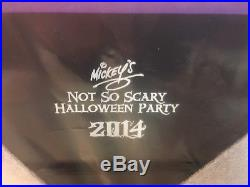 Disney/WDW Mickey's Not So Scary Halloween Party 2014 Framed Set Brand New