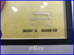 Disney's Aladdin Tv Original Production Cel- Aladdin And Jasmine (framed)