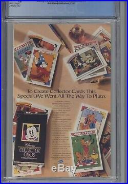 Disney's Darkwing Duck #1 CGC 9.6 1991 Walt Disney's Publications New Frame