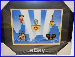 Disney's Mickey Mouse Club Framed Pin Set. 5 pins Limited edition of 1000 pc