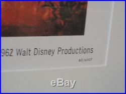 Disneyland After Dark 1962 Louis Armstrong Annette Walt Disney Framed Poster