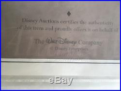 Disneyland Hotel New Orleans Square Lithograph, Never Framed