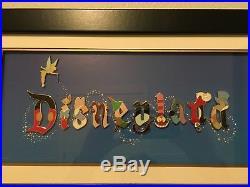 Disneyland Resort Gothic 11-pin Framed Set WOW! Rare/Hard to Find/Exclusive