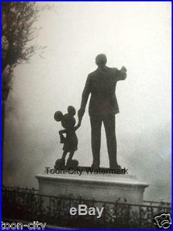 Disneyland in the FOG Mickey & Walt Disney Frame NEW partners 11x14, 16x20 Frame