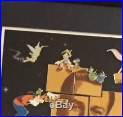 Dreams HapPin Walt Disney Dumbo Snow White Sleeping Beauty Framed 10 Pin Set