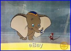 Dumbo Walt Disney L/ED Animation Sericel Custom Framed FREE SHIPPING