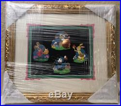 Easter Disney Rabbits Framed 4 WDI Artist Proof pins Oswald Thumper March Hare