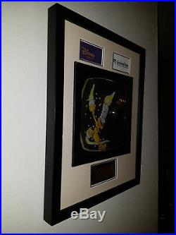 Extremely Rare! Walt Disney Beauty and the Beast Lumiere Plate Framed From 2006